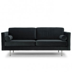 Cyrus Modern Sofa in Dark Grey