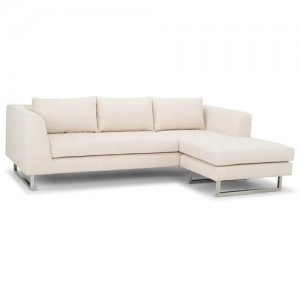 Matthew Sand Color Fabric Sectional