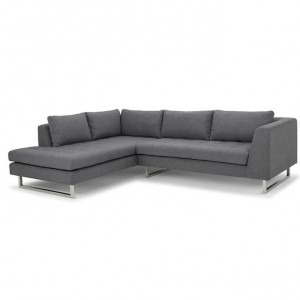 Janis Grey Fabric Sectional