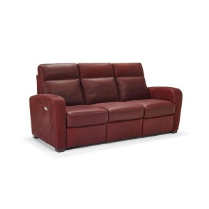 Power Motion Natuzzi Leather Sofa