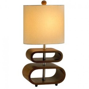 Bentwood Table Lamp