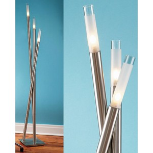 Frosted Sconce Floor Lamp