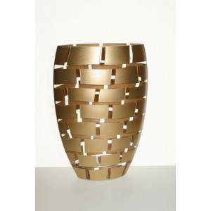 Gold Wall Vase