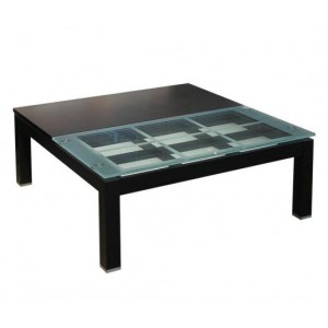 Square Coffee Table With Decorative Storage