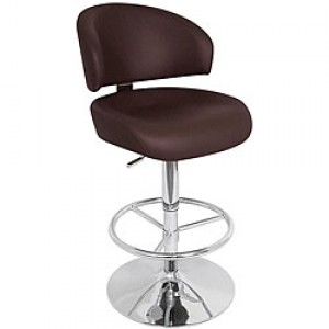 Adjustable Padded Bar Stool