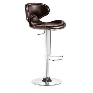 Curved Hydraulic Bar Stool