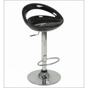 Curved Slit Bar Stool