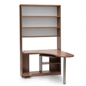 Corner Desk with Bookshelf
