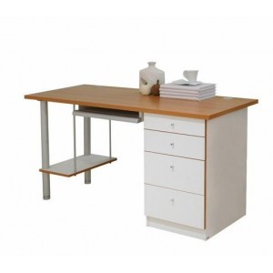 4 Drawer Office Desk