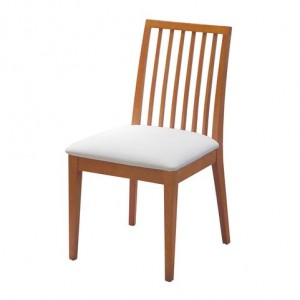 Low Slat Dining Chair