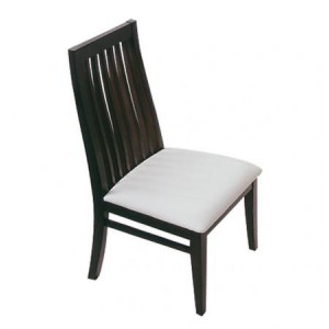 Chair with White Seat