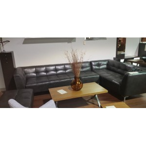 Fabric (leather look) 4 pc. Sectional