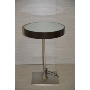 Round Light Side Table
