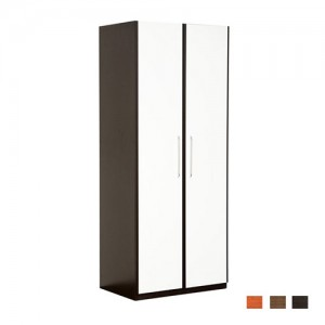 Two Tone Double Door Wardrobe